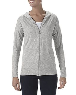 Tri-Blend Ladies Full Zip Jacket