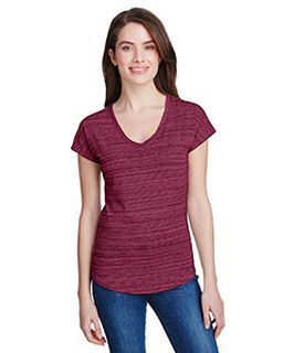 Ladies Streak V-Neck T-Shirt-
