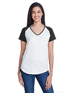Ladies Tri-Blend Raglan T-Shirt-