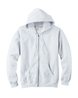 Adult Full-Zip Hooded Fleece-