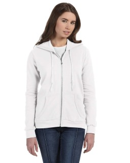 Ladies Full-Zip Hooded Fleece-Anvil