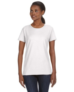 Ladies Midweight Mid-Scoop T-Shirt-