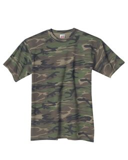 Midweight Camouflage T-Shirt-
