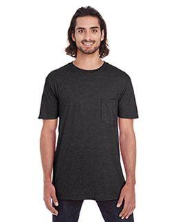 Adult Lightweight Pocket T-Shirt-Anvil