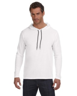 Adult Lightweight Long-Sleeve Hooded T-Shirt-