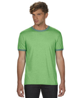Adult Lightweight Ringer T-Shirt-Anvil