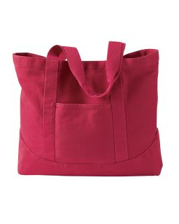 14 Oz. Pigment-Dyed Large Canvas Tote-Authentic Pigment