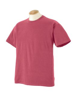 5.6 Oz. Pigment-Dyed & Direct-Dyed Ringspun T-Shirt-Authentic Pigment