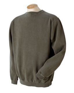 11 Oz. Pigment-Dyed Fleece Crew-Authentic Pigment