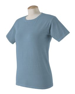 Ladies 5.6 Oz. Pigment-Dyed & Direct-Dyed Ringspun T-Shirt-