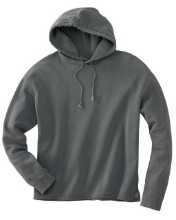 80/20 Fleece Boxy Pullover Hood-Authentic Pigment