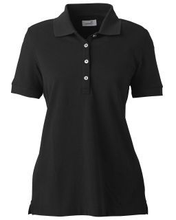 Ladies Combed Cotton Pique Polo-
