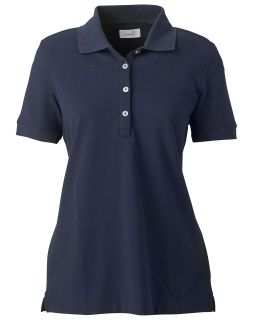 Ladies Combed Cotton Pique Polo-Ashworth