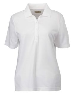 Ladies High Twist Cotton Tech Polo-Ashworth