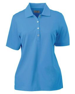 Ladies High Twist Cotton Tech Polo-Ashworth