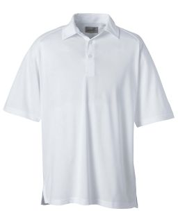 Mens Performance Wicking Pique Polo-