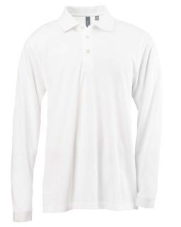 Mens Ez Tech Long-Sleeve Polo-