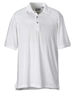 Mens Ez-Tech Jersey Textured Stripe Polo-