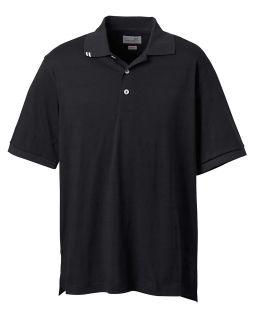 Mens Ez-Tech Jersey Textured Stripe Polo-Ashworth