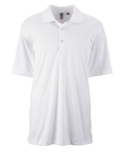 Mens Performance Interlock Solid Polo-