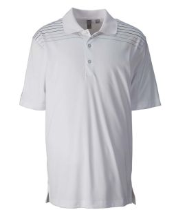 Mens Performance Interlock Print Polo-