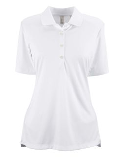 Ladies Performance Interlock Solid Polo-
