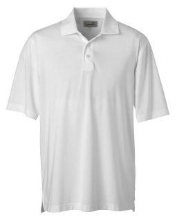 Mens High Twist Cotton Tech Polo-