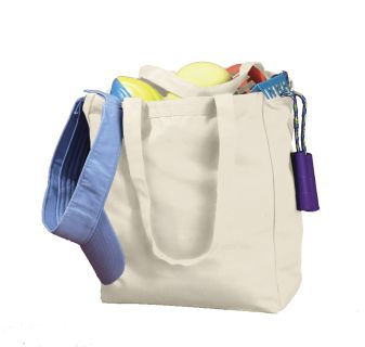 12 Oz. Canvas Book Tote-