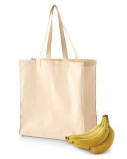 6 Oz. Canvas Grocery Tote-BAGedge