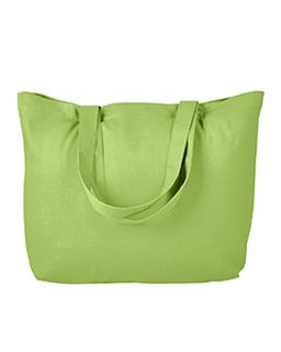 Cotton Twill Horizontal Shopper-