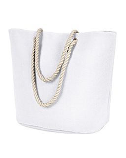 Polyester Canvas Rope Tote-
