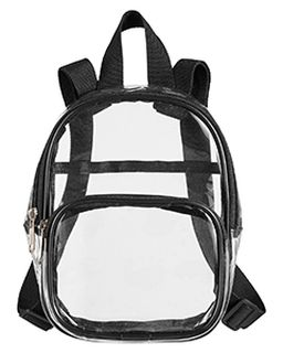 Unisex Clear Pvc Mini Backpack-