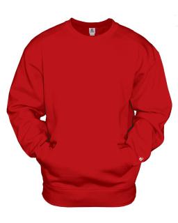 Adult Athletic Fleece Pocket Crew
