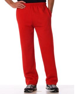 Adult Open-Bottom Fleece Pants
