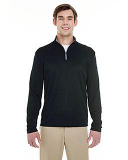 Mens Lightweight Long-Sleeve Quarter-Zip Performance Pullover