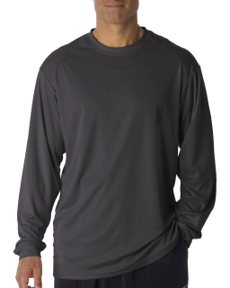 Adult B-Core Long-Sleeve Performance T-Shirt-Badger