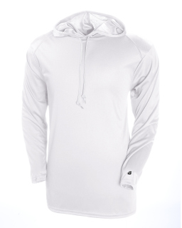 Adult B-Core Long-Sleeve Performance Hooded T-Shirt
