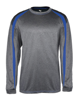 Adult Fusion Long-Sleeve T-Shirt-Badger