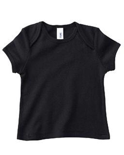 Infant Short-Sleeve Baby Rib T-Shirt-