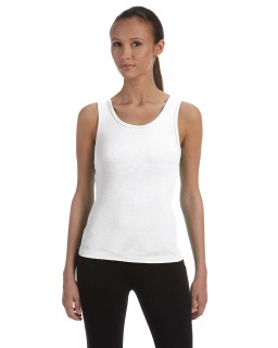 Ladies Baby Rib Tank-Bella + Canvas