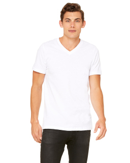 Unisex Jersey Short-Sleeve V-Neck T-Shirt-