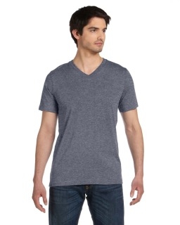 Unisex Made In The Usa Jersey Short-Sleeve V-Neck T-Shirt-Bella + Canvas