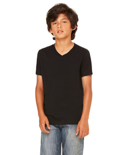 Youth Jersey Short-Sleeve V-Neck T-Shirt-