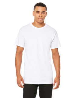 Mens Long Body Urban T-Shirt-Bella + Canvas
