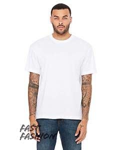 Fast Fashion Mens Drop Shoulder Street T-Shirt-