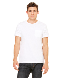 Mens Jersey Short-Sleeve Pocket T-Shirt