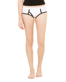 Ladies Cotton/Spandex Boyfriend Brief-