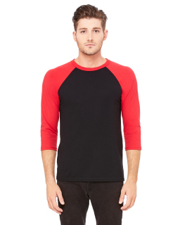 Unisex 3/4-Sleeve Baseball T-Shirt-