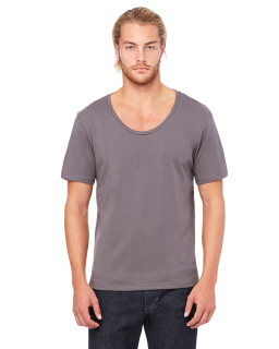 Mens Jersey Wide Neck T-Shirt-