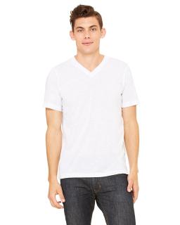 Unisex Triblend V-Neck T-Shirt-